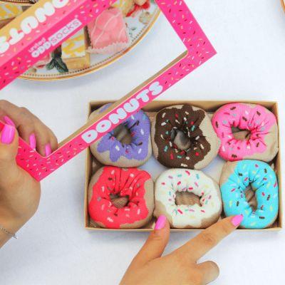 Kleding - Donuts sokken