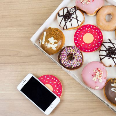 Gadgets & Techniek - Draadloze Donut Oplader