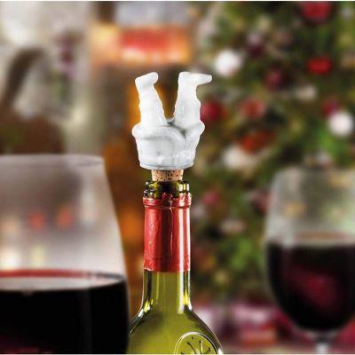 Bar accesoires - Dronken kerstman flessluiting