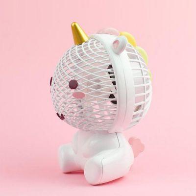 Plezier op kantoor - Elodie eenhoorn ventilator via USB