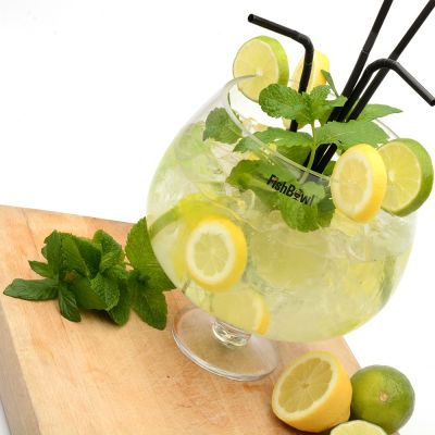 Tuinfeest decoratie - Fishbowl glas
