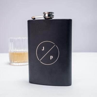 Vaderdag cadeau - Personaliseerbare veldfles met initialen