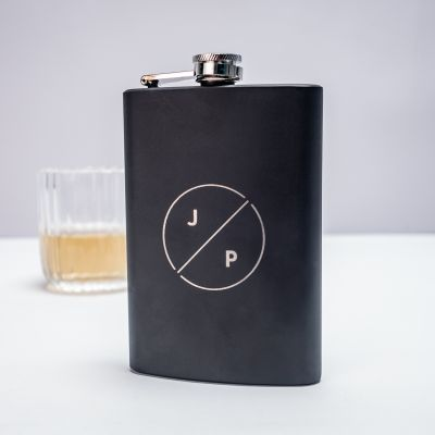 Festival gadgets - Personaliseerbare veldfles met initialen