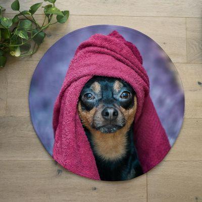 Cadeau voor broer - Personaliseerbare badmat met foto