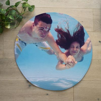 Gepersonaliseerde badmatten - Personaliseerbare badmat met foto