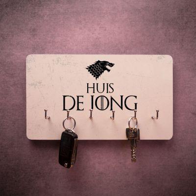 Decoratie - Personaliseerbaar sleutelbord met wapen