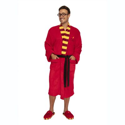 Badkamer - Harry Potter badjas met bril en bliksem