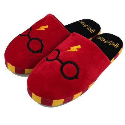 Film & Serie - Harry Potter slippers met bril en bliksem