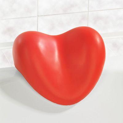 Badkamer - Hart kussen voor het bad
