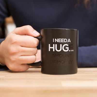 Grappige cadeaus - Hittegevoelige Mok – I Need A Hug