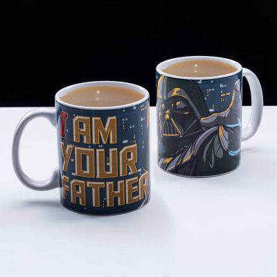 Kopjes & glazen - Star Wars I Am Your Father Mok