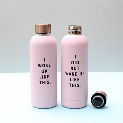 Back to school cadeaus - I Did Not Wake Up Like This drinkfles