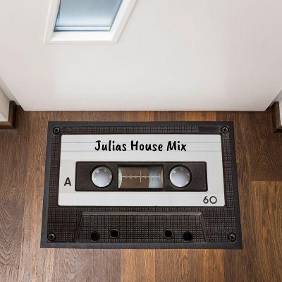 Gepersonaliseerde deurmatten - Personaliseerbare cassette deurmat