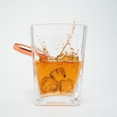 Verjaardagscadeau voor 30 - Last Man Standing Whiskey Glass