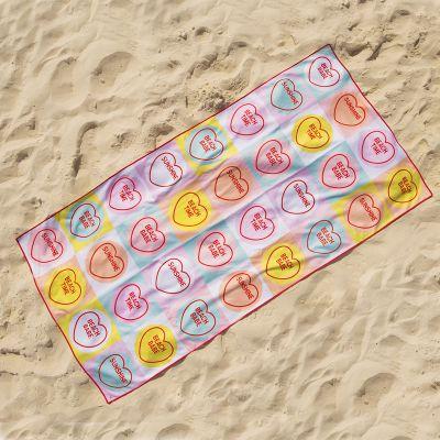 Zwembad Accessoires - Love Hearts Handdoek