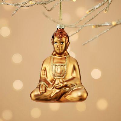 Kerstversiering - Gelukkige Buddha kerstboom decoratie