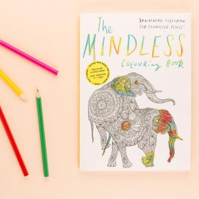 Grappige cadeaus - Het hersenloze kleurboek