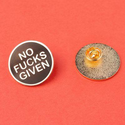 Sieraden - No Fucks Given pin