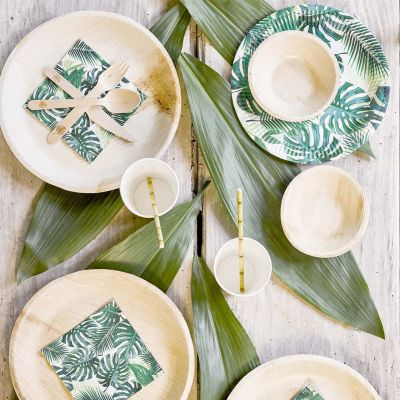 Tuinfeest decoratie - Tropische party set