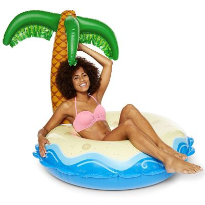 Zwembad Accessoires - Opblaasbaar palmeiland