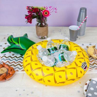 Zwembad Accessoires - Opblaasbare mini ananas snackbar
