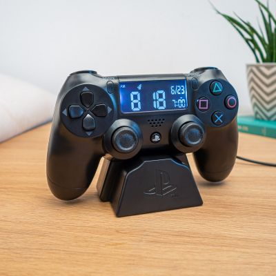 Kerstcadeau voor vriend - Playstation Controller wekker