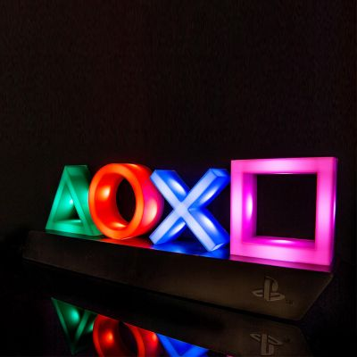 Cadeau idee - Playstation Icons Lampen