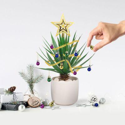Kerstboomversiering voor kamerplanten
