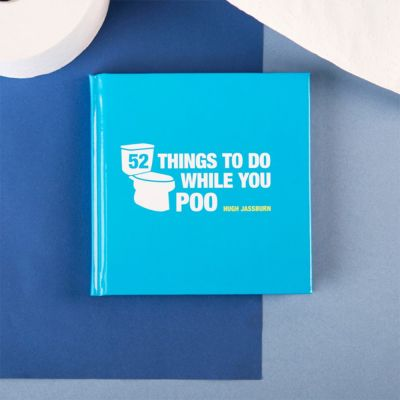 Cadeau idee - 52 Things To Do While You Poo boek