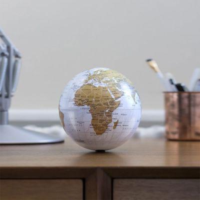 Decoratie - Roterende mini wereldbol