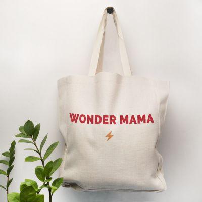 Moederdag cadeau - Personaliseerbare tas met 5 regels