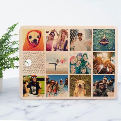 Keuken & barbeque - Personaliseerbare snijplank met 11 afbeeldingen