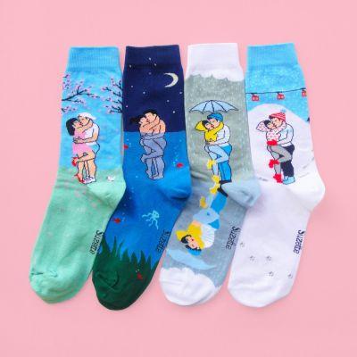 Romantisch cadeau - Liefdeskoppel sokken
