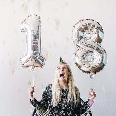 Verjaardagscadeau voor 30 - Gigantische cijfer ballonnen