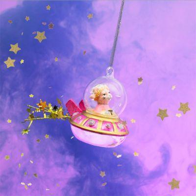 Kerstversiering - Kat in UFO Kerstboomversiering
