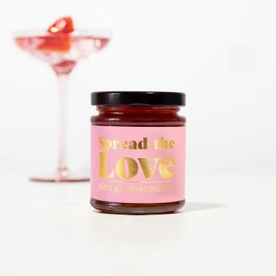 Romantisch cadeau - Pink Gin Jam