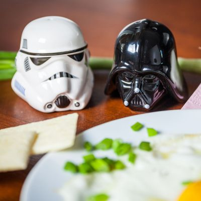 Star Wars gadgets en hebbedingen - Star Wars zout- en peperstrooier