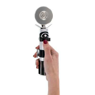 Star Wars gadgets en hebbedingen - Star Wars Lightsaber Pizza Snijder met geluid