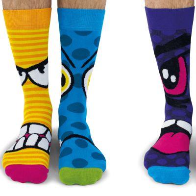Vaderdag cadeau - Stress heads sokken