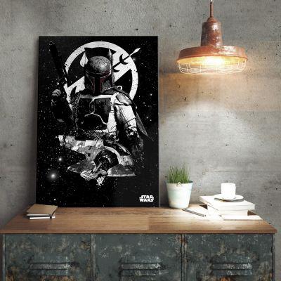 Star Wars gadgets en hebbedingen - Star Wars metaalposter - Boba Fett Slave 1