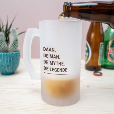 Vrijgezellenfeest - Personaliseerbare bierpul modern