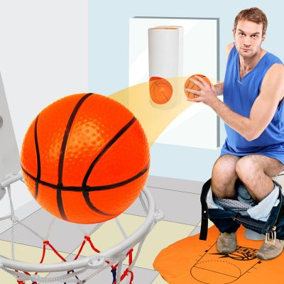 Kerstcadeau voor vriend - Basketbalset voor op het toilet