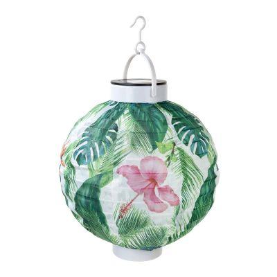 Tuinfeest decoratie - Tropische outdoor solarlamp