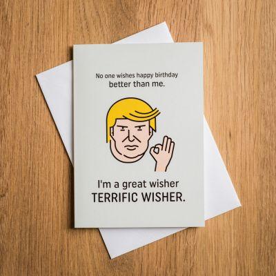 Kaarten - Terrific Trump verjaardagskaart