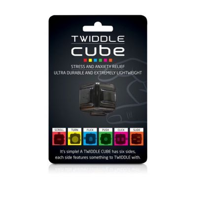 Back to school cadeaus - Twiddle Cube anti stress dobbelsteen