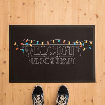 Kerstcadeau voor vriend - Upside Down deurmat