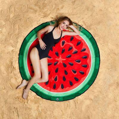 Zwembad Accessoires - Watermeloen strandlaken