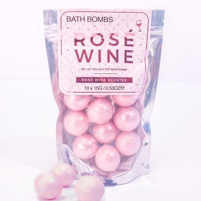 Wijn cadeau - Rosé wijn badschuimpjes