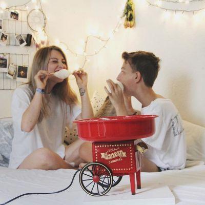 Cadeau voor kinderen - Suikerspinmachine