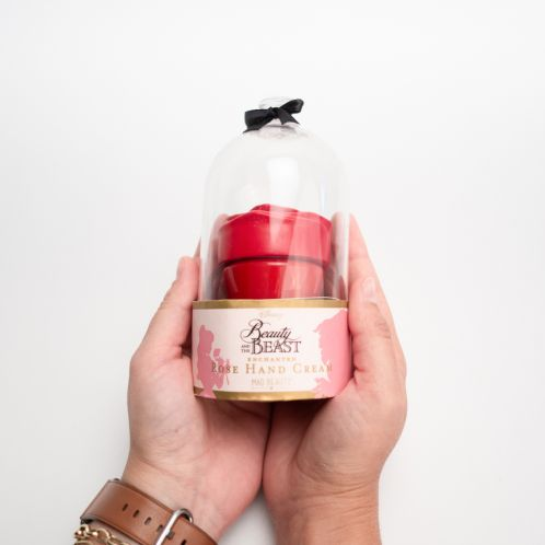 Beauty and The Beast roos handcrème